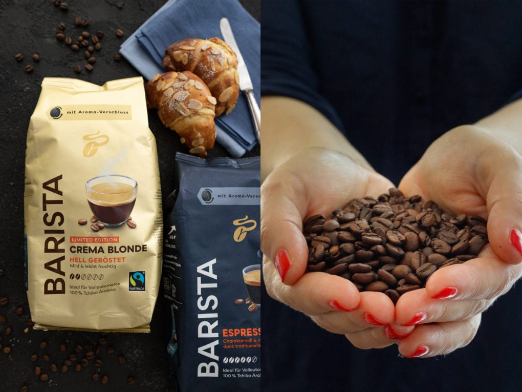 Barista Kaffees Tchibo